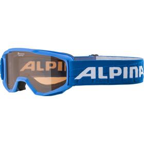 Alpina Piney Goggles Kinderen, blauw